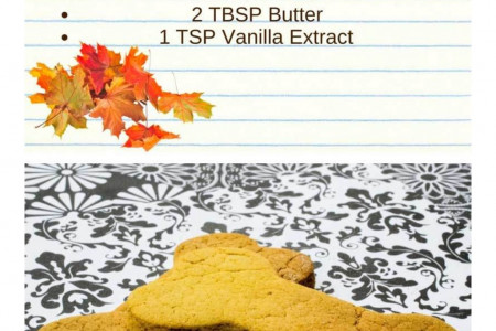 Homemade Pumpkin Peanut Butter Biscuits Infographic
