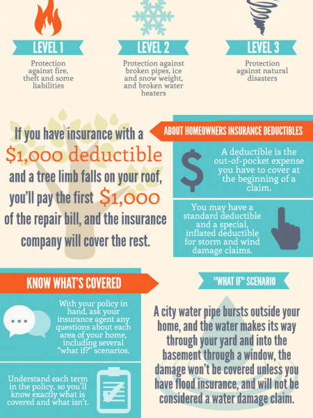 Homeowner's Insurance: Ask the Right Questions, Get the Right Coverage Infographic