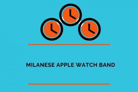 Honest Review for the Apple Watch Milanese Loop Infographic