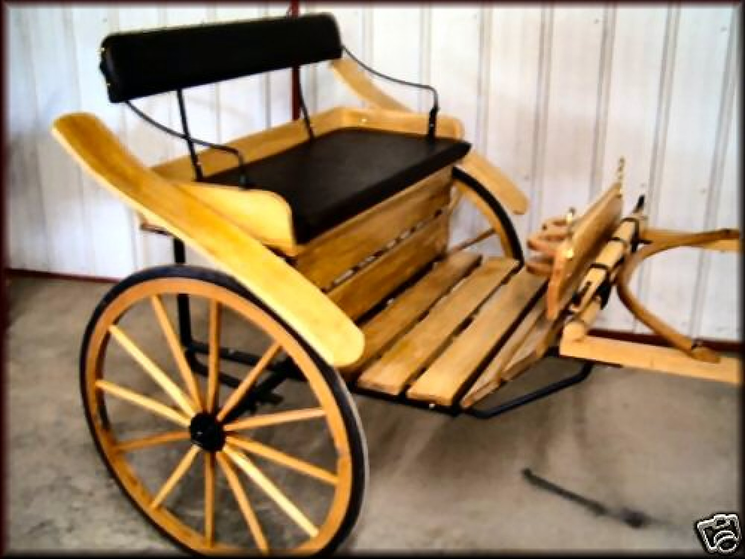 Horse cart sale buggy bobs carriage co for Easy entry cart plans