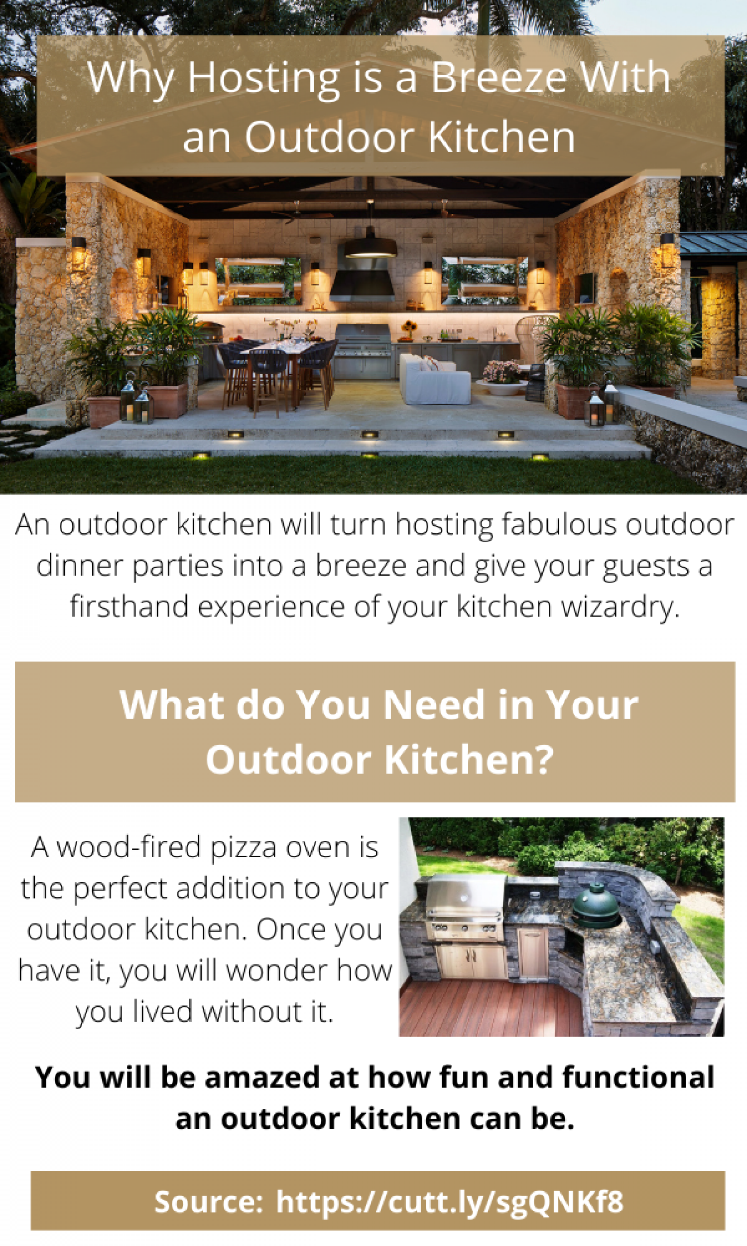 Hosting Fabulous Outdoor Dinner Parties Into A Breeze Infographic