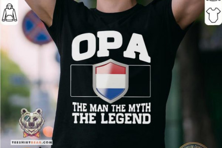 Hot OPA The Man The Myth The Legend Shirt Infographic