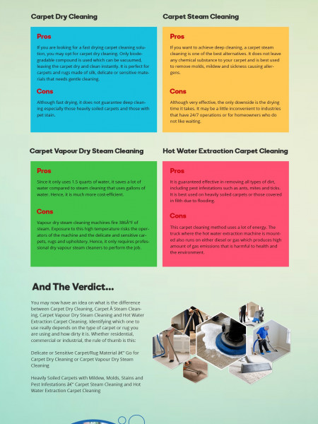 Hot Water Extraction Carpet Cleaning Infographic