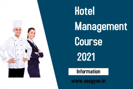 Hotel Management Course Infographic