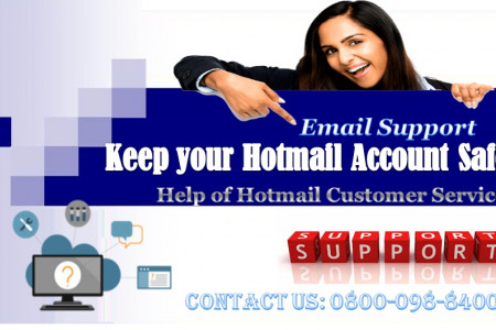 Hotmail Customer Service Support Number Infographic