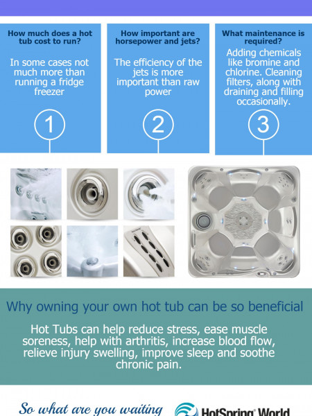 HotSpring World Hot Tub Infographic Infographic