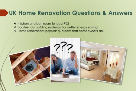 House Refurbishment and Renovation Questions&Answers Infographic