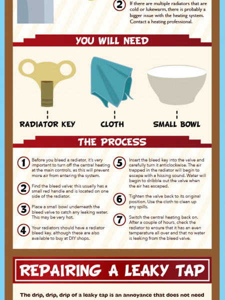Household Repairs Infographic