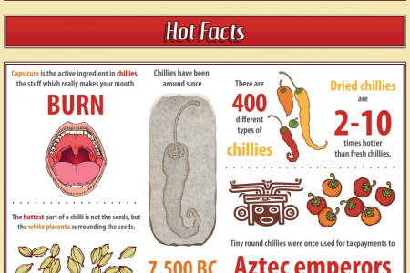 How A Chilli A Day Keeps The Doctor Away Infographic