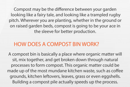 How a Water Tank Can Help You Start a Compost System Infographic