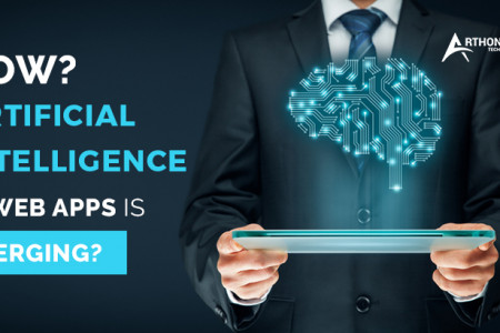 How Artificial Intelligence in Web Apps is Emerging? Infographic
