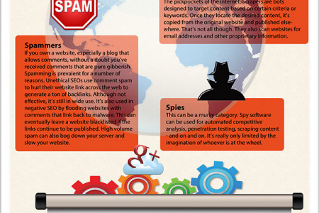 How (Bad) Spiders and Bots Inflate Google Analytics Infographic