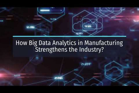 How Big Data Analytics in Manufacturing Strengthens the Industry? Infographic