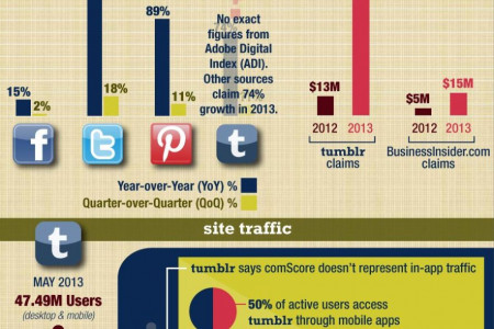 How Big is Tumblr? Infographic