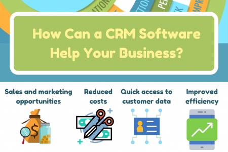 How Can a CRM Software Help Your Business? Infographic