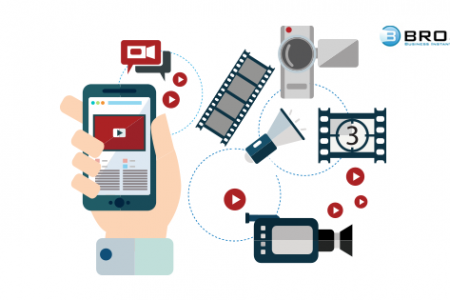 How Can Brosix Help Video Creation Companies Increase Productivity? Infographic
