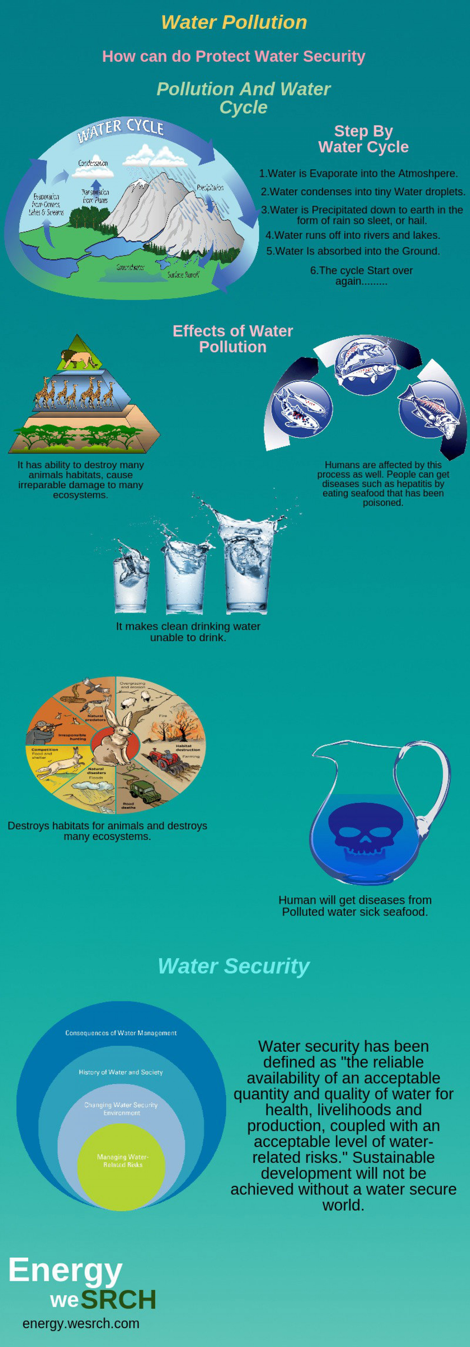 How can do Protect Water Security Infographic