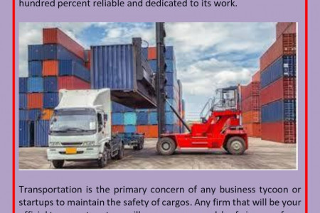 How Can Transportation Benefit Logistics Companies? Infographic