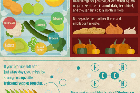 How Can We Keep Produce Fresh Longer?  Infographic