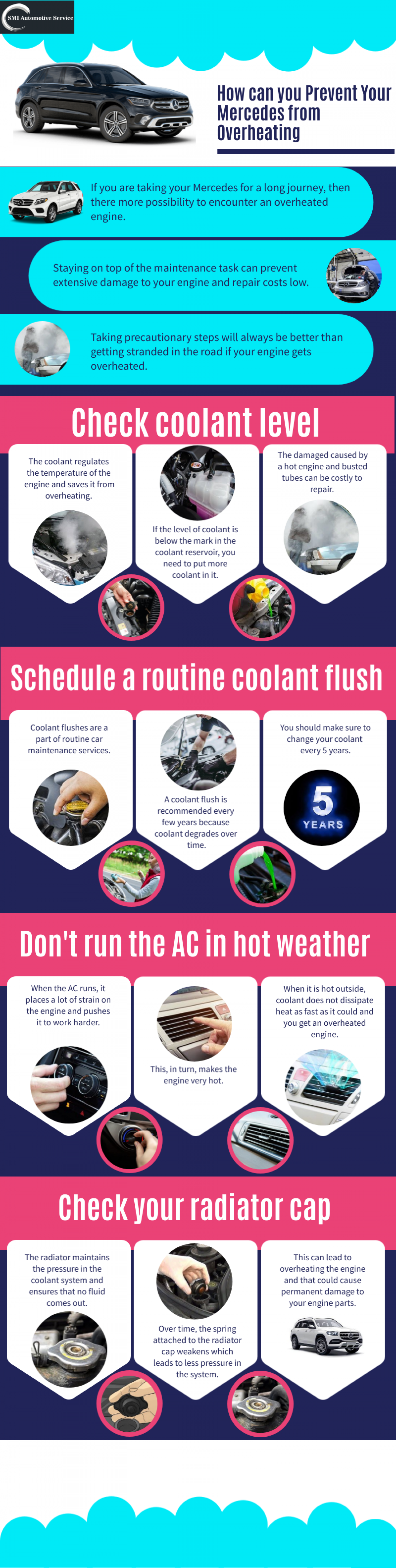 How can you Prevent Your Mercedes from Overheating? Infographic