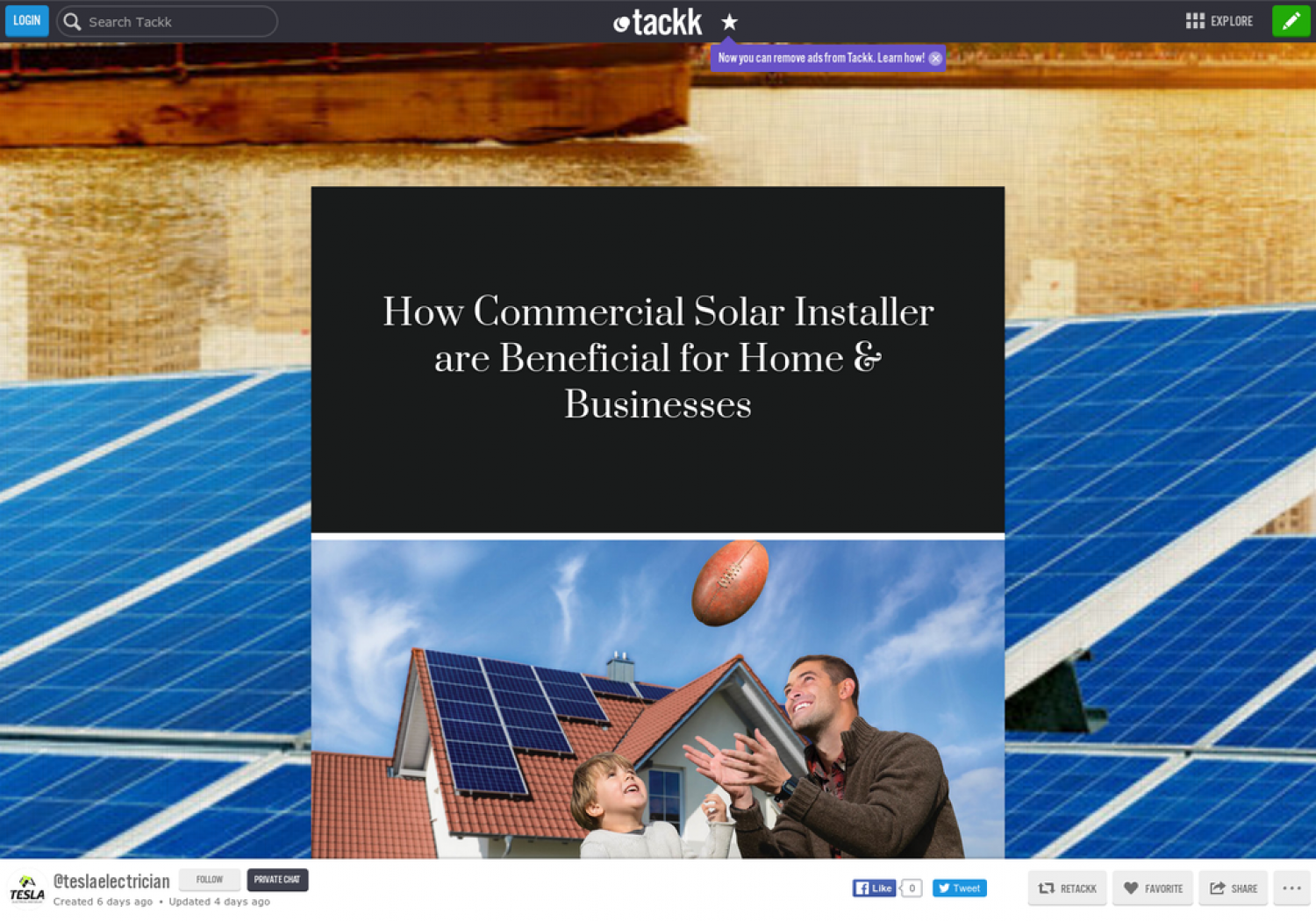 How Commercial Solar Installer are Beneficial for Home & Businesses Infographic