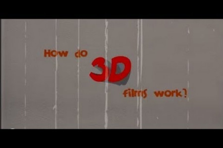 How do 3D Films work? Infographic