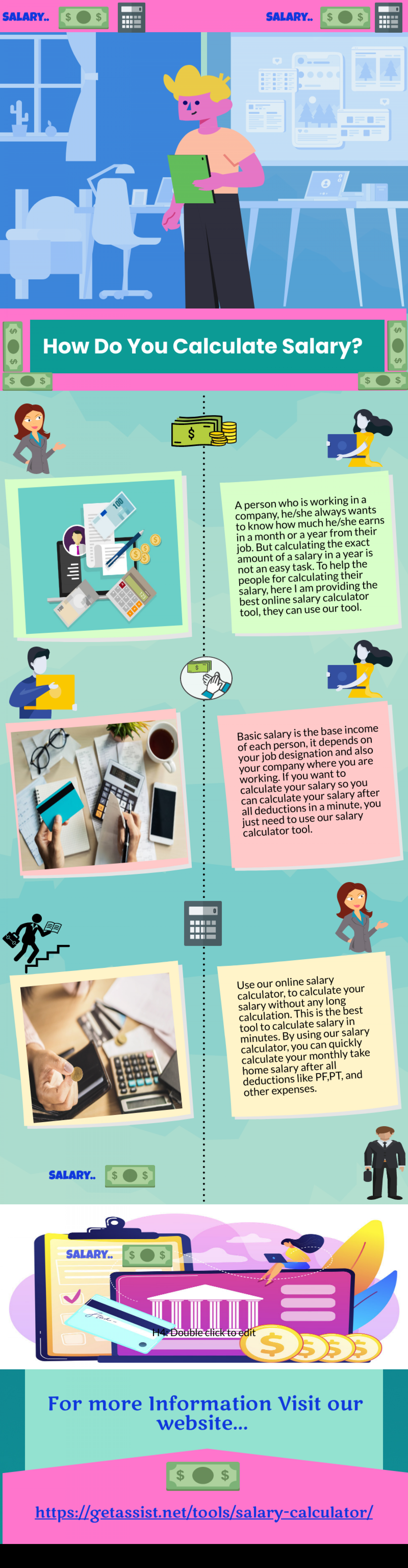 How Do I Calculate Salary? Infographic