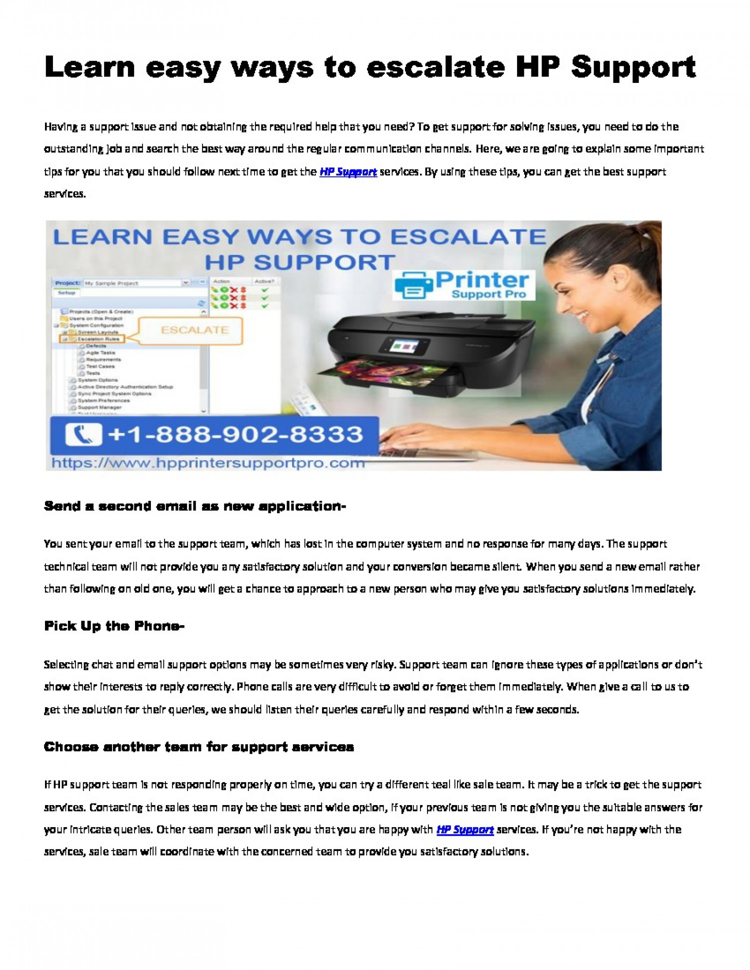 How do I contact HP support by chat? Infographic