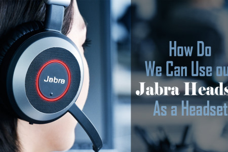How Do We Can Use our Jabra Headset As a Headset Infographic