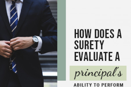 How Does a Surety Evaluate a Principal's Ability to Perform? Infographic