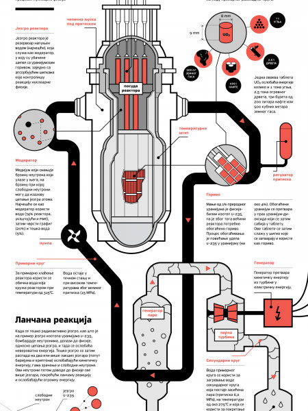 How does Nuclear Powerplant work? Infographic