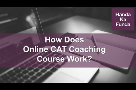 How Does Online CAT Coaching Course Work? Infographic