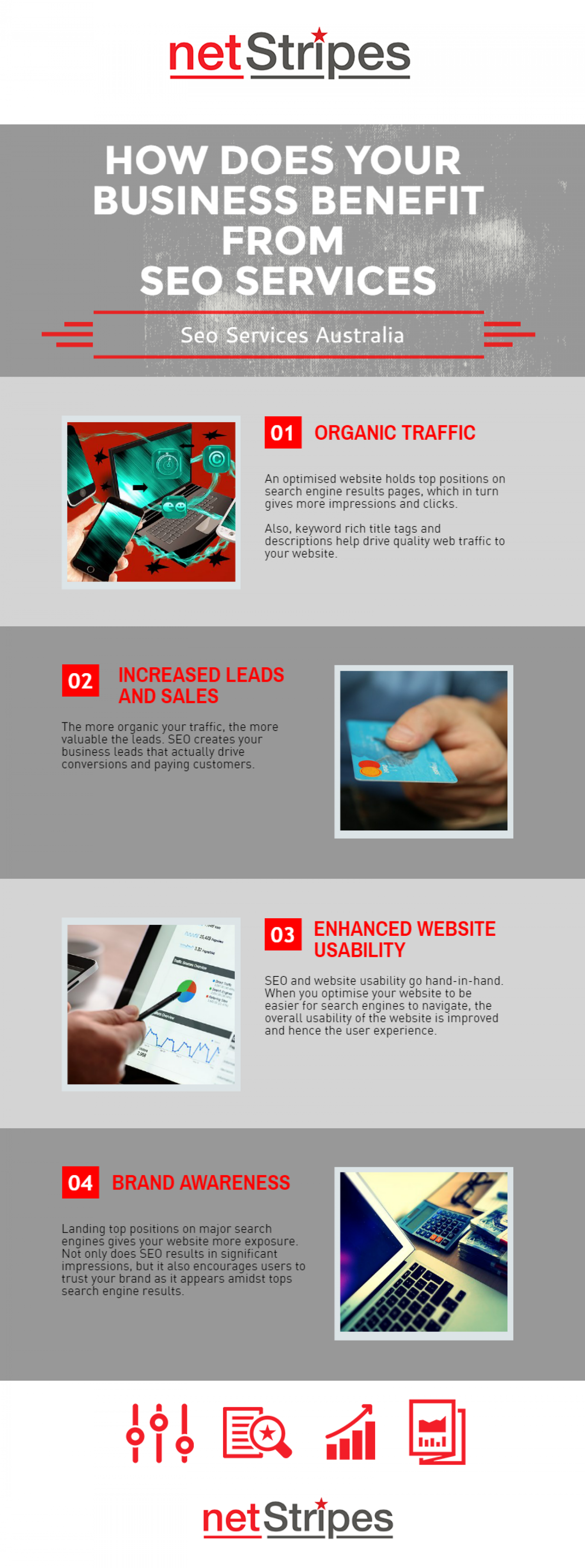 How Does Your Business Benefit From SEO Services Australia Infographic