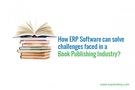 How ERP Software can solve challenges faced in a Book Publishing Industry? Infographic