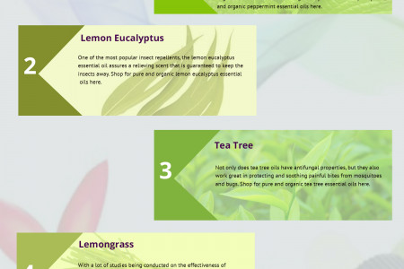 How Essential Oils Make the Perfect Solution to Get Rid of Mosquitoes Infographic