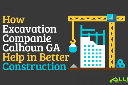How Excavation Companies Calhoun GA Help in Better Construction Infographic