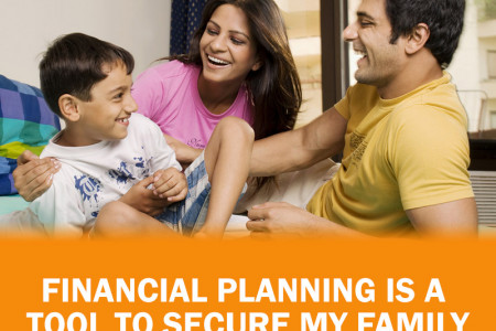 How Financial Planning will secure your Family Infographic