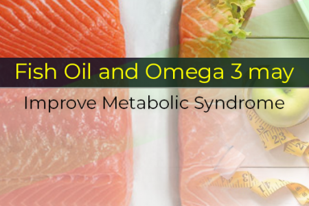 How Fish Oil and Omega 3 may Improve Metabolic Syndrome Infographic