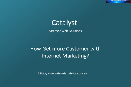 How Get more Customer with Internet Marketing Infographic