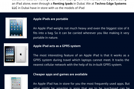 How Get Some Benefits with a Rental IPad in Dubai? Infographic