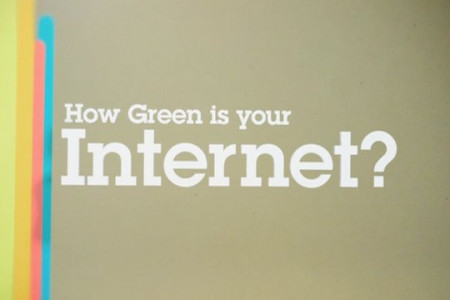 How Green Is Your Internet? Infographic
