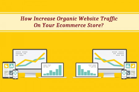 How Increase Organic Website Traffic On Your Ecommerce Store?  Infographic