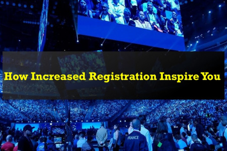 How Increased Registration Inspire You Infographic