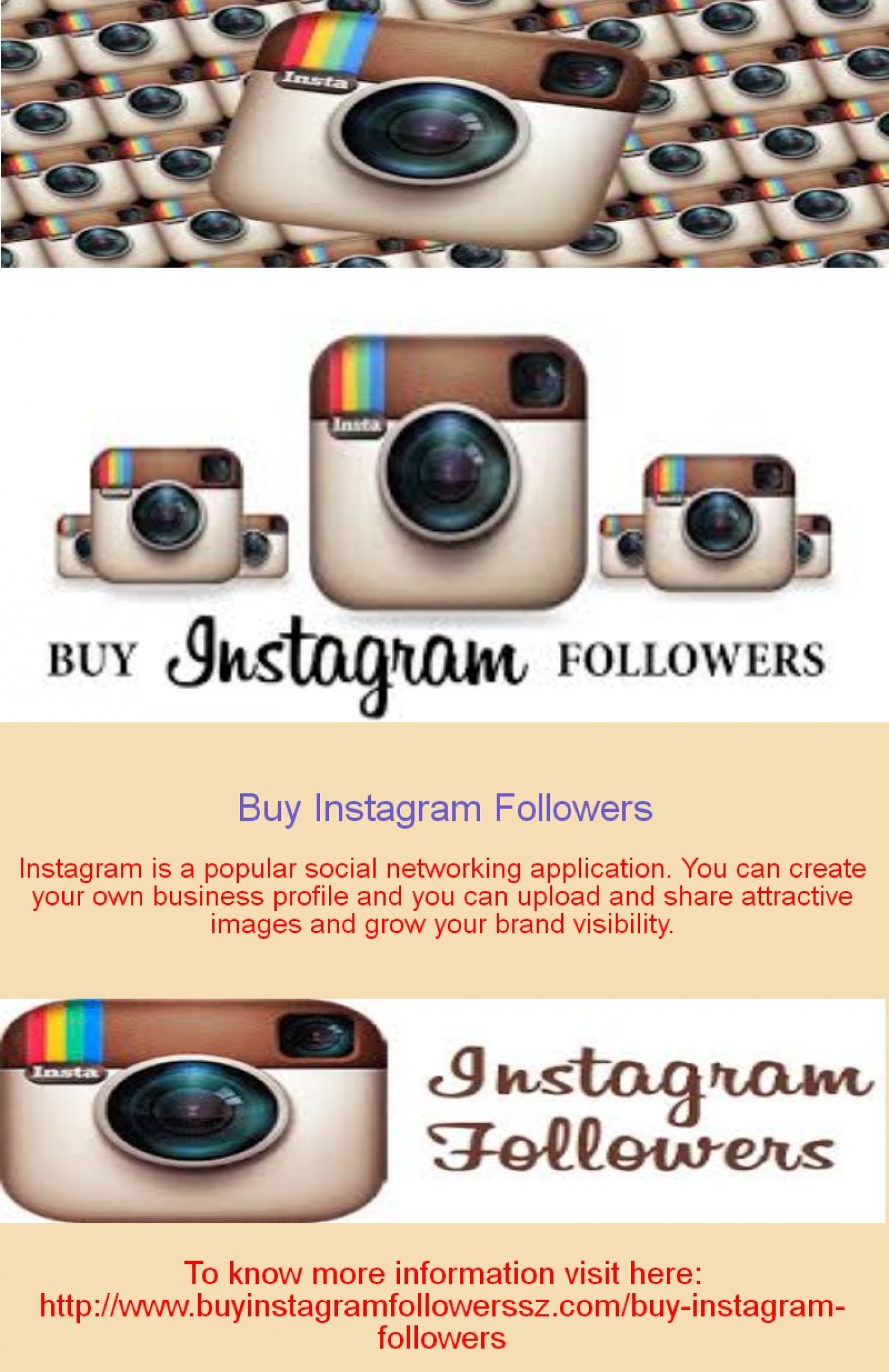How Instagram Helps in Business Infographic