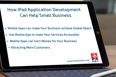 How iPad Application Development Can Help Small Business Infographic