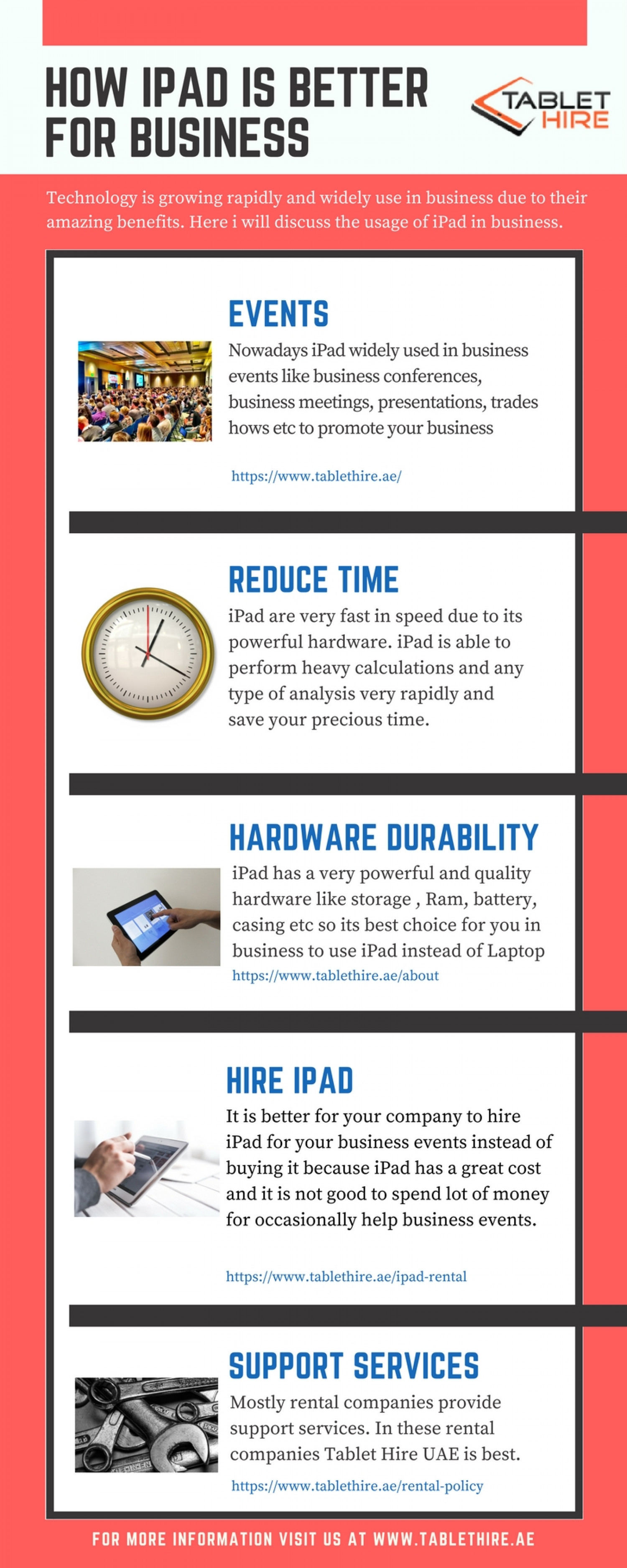 How iPad is better for your business? Infographic