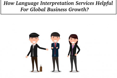 How Language Interpretation Services Helpful For Global Business Growth? Infographic