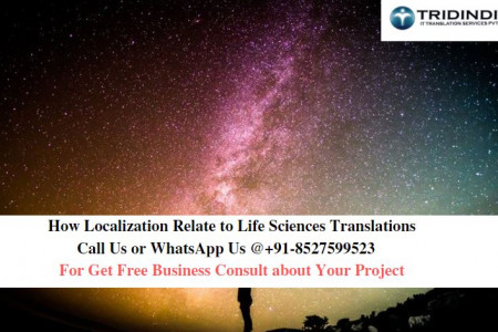 How Localization Relate to Life Sciences Translations Infographic