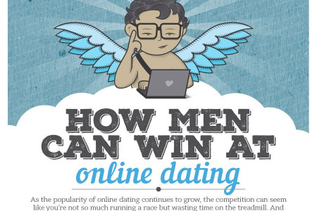 How Men Can Win at Online Dating Infographic