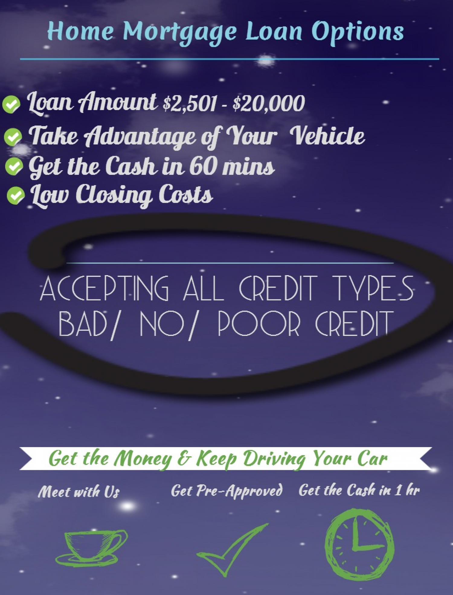 How Much Cash Can You Get? Infographic